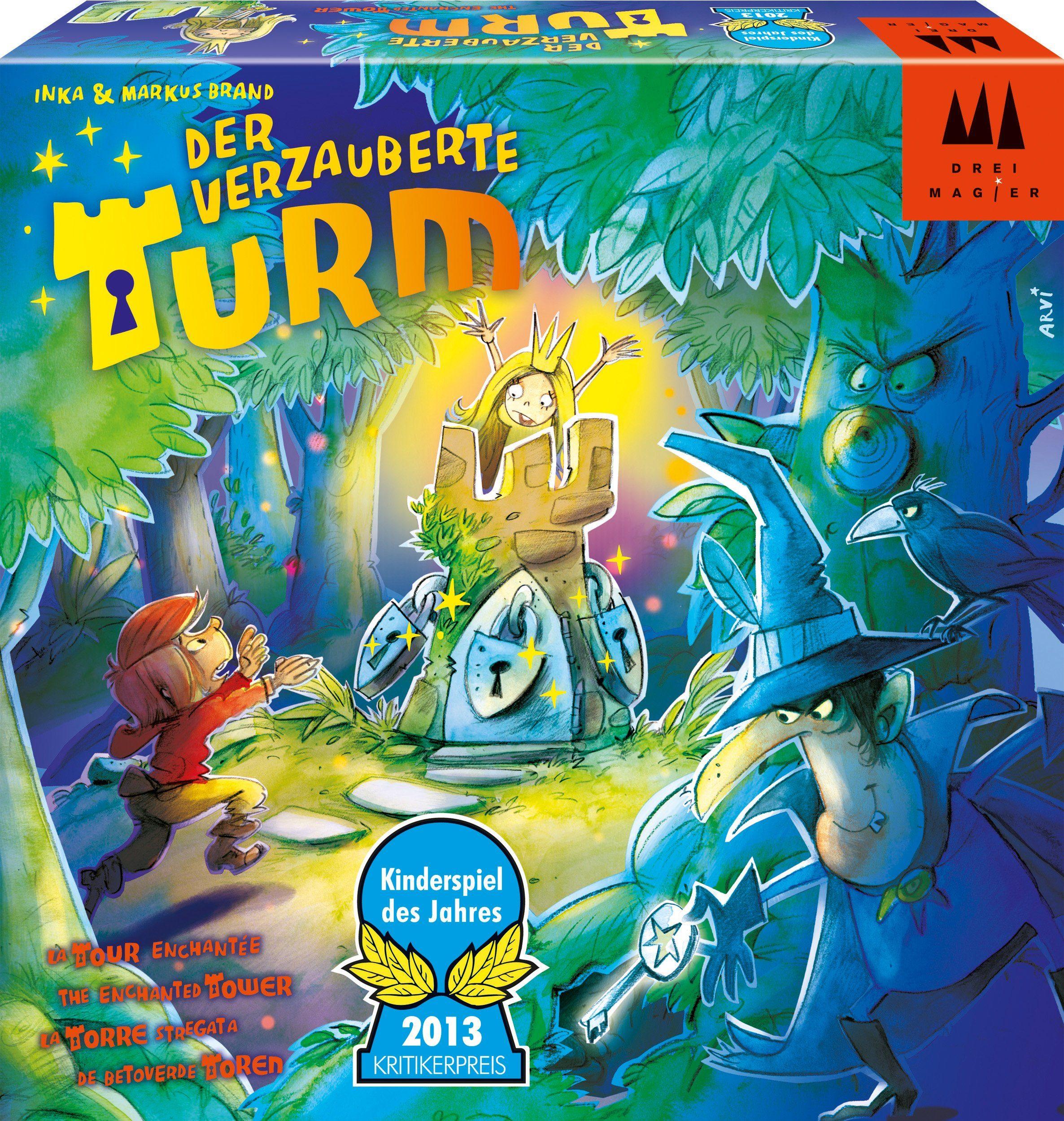 Drei Magier Spiele Brettspiel, »Der verzauberte Turm«