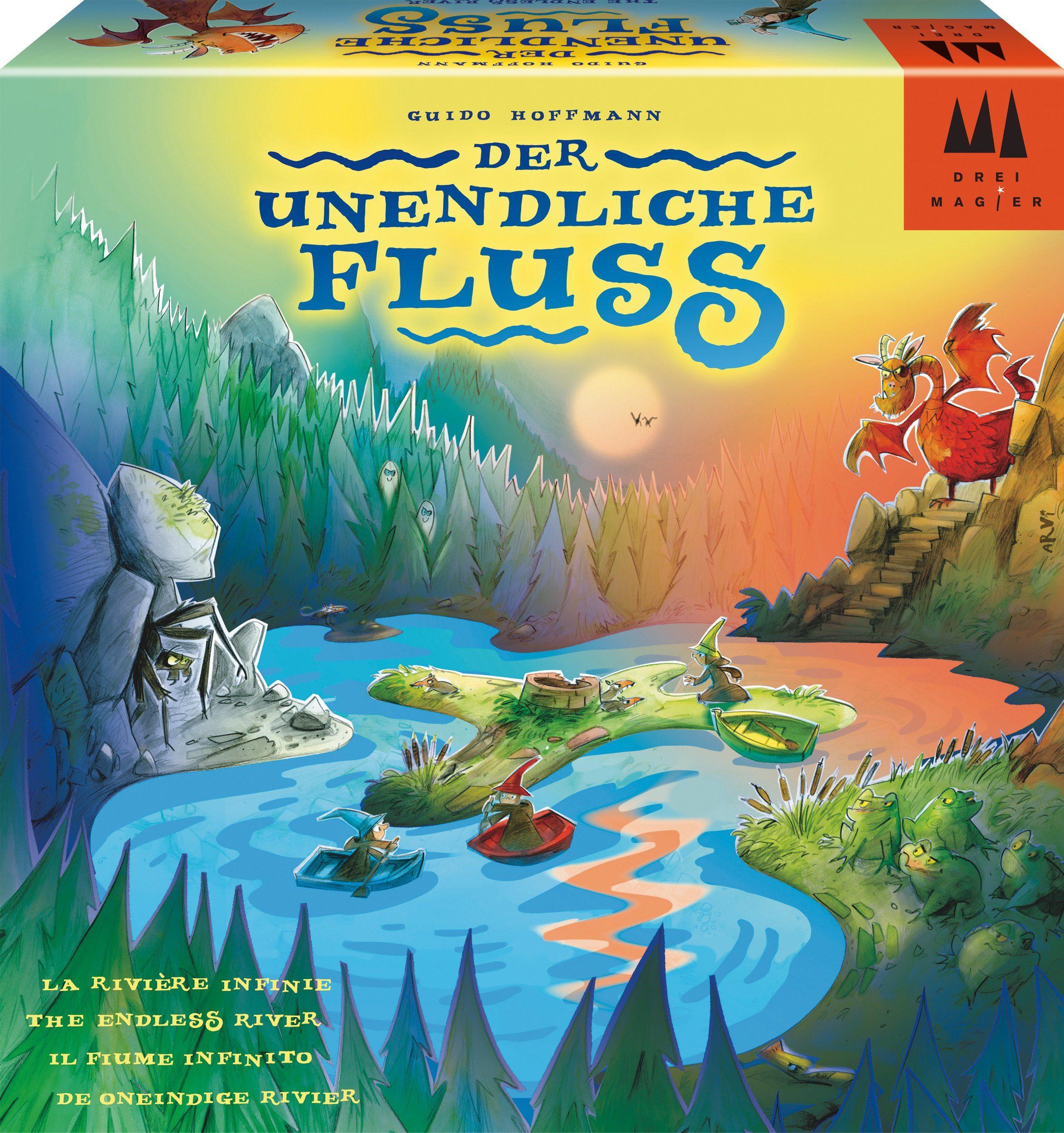 Drei Magier Spiele Brettspiel , »Der unendliche Fluss«