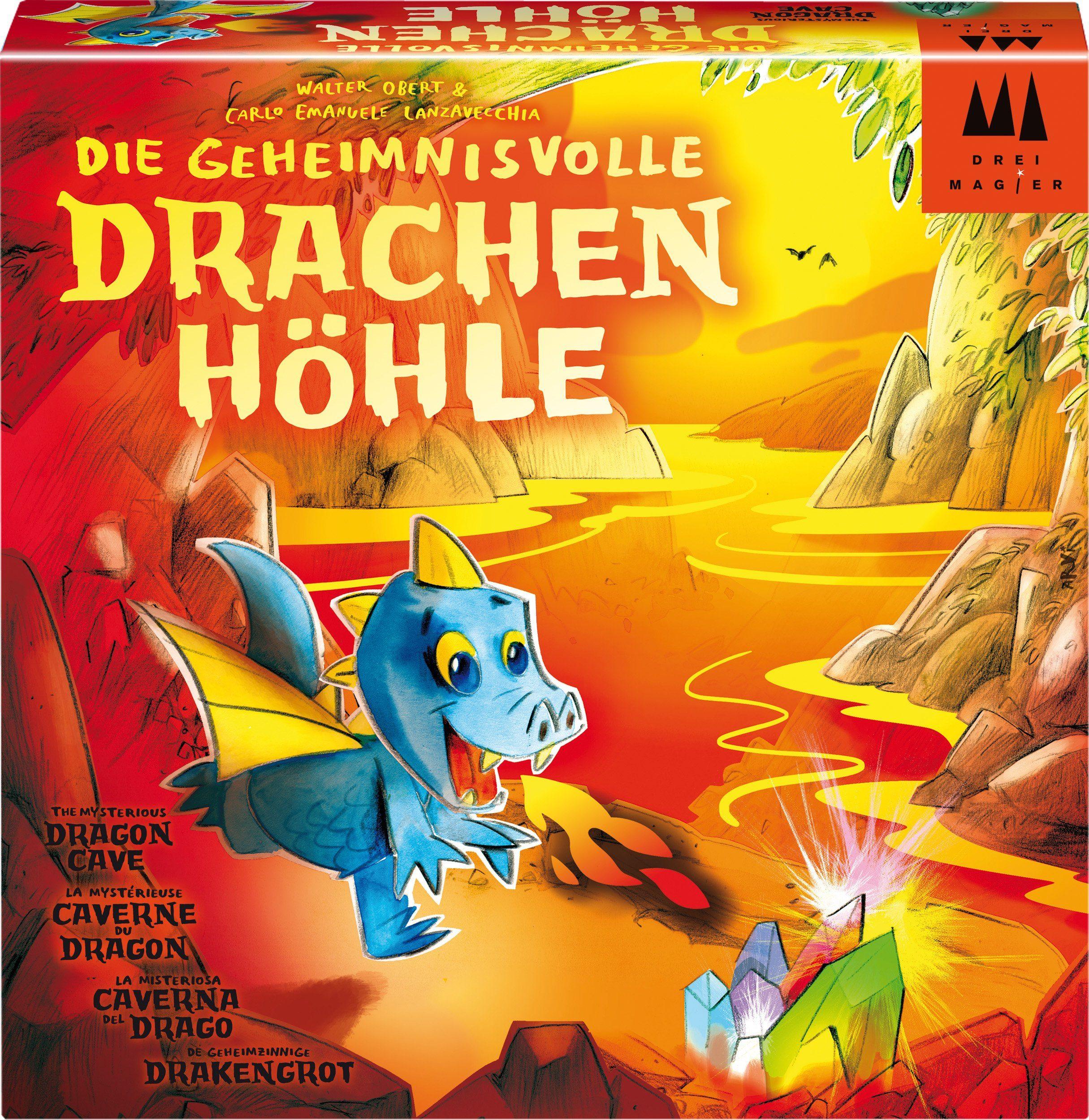 Drei Magier Spiele Gesellschaftsspiel, »Die geheimnisvolle Drachenhöhle«