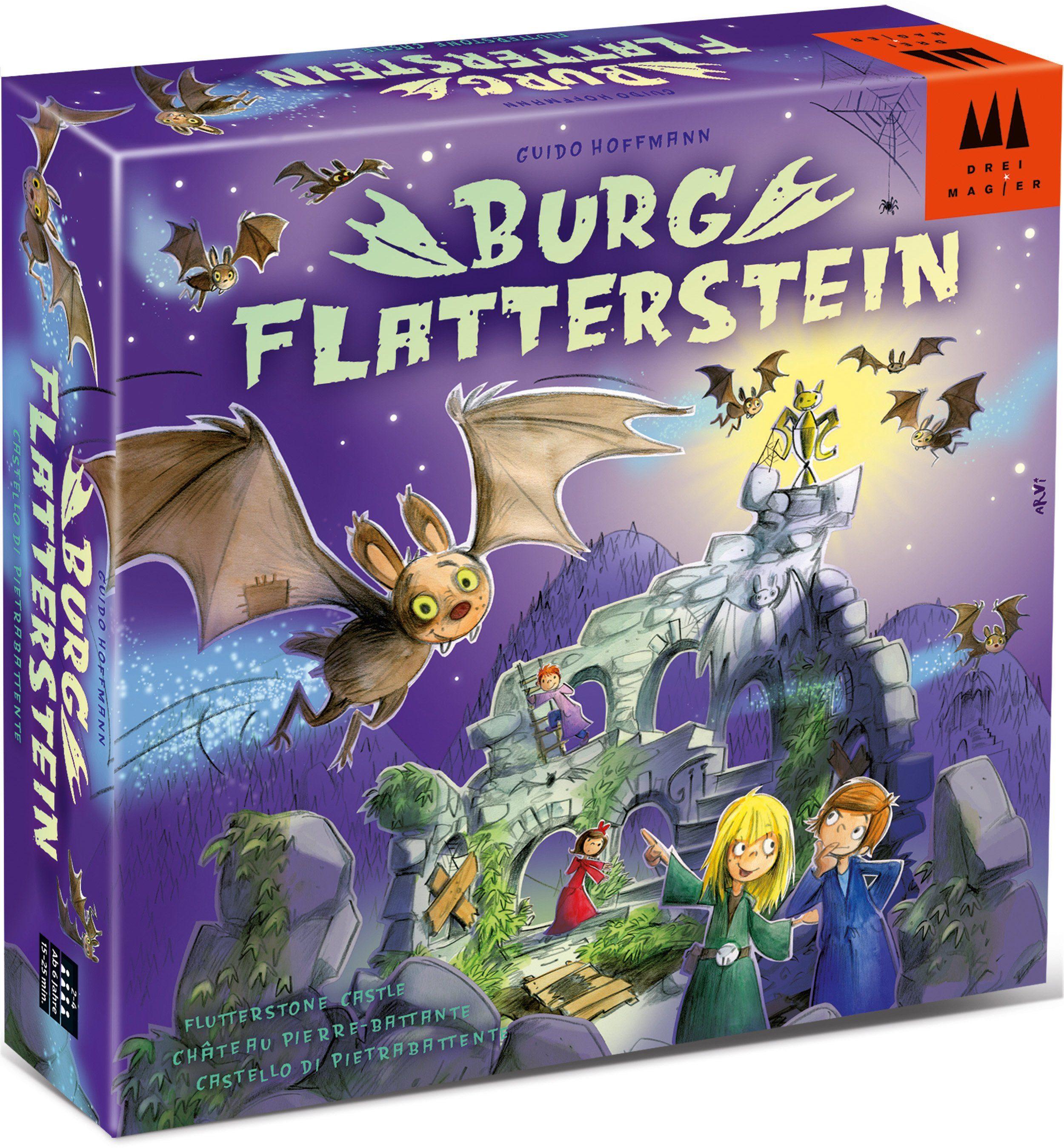 Drei Magier Spiele Spiele Brettspiel, »Burg Flatterstein®«