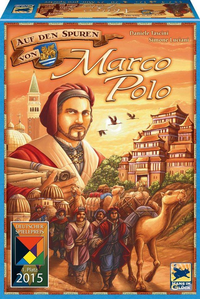 Schmidt Spiele Gesellschaftsspiel, »Auf den Spuren von Marco Polo«