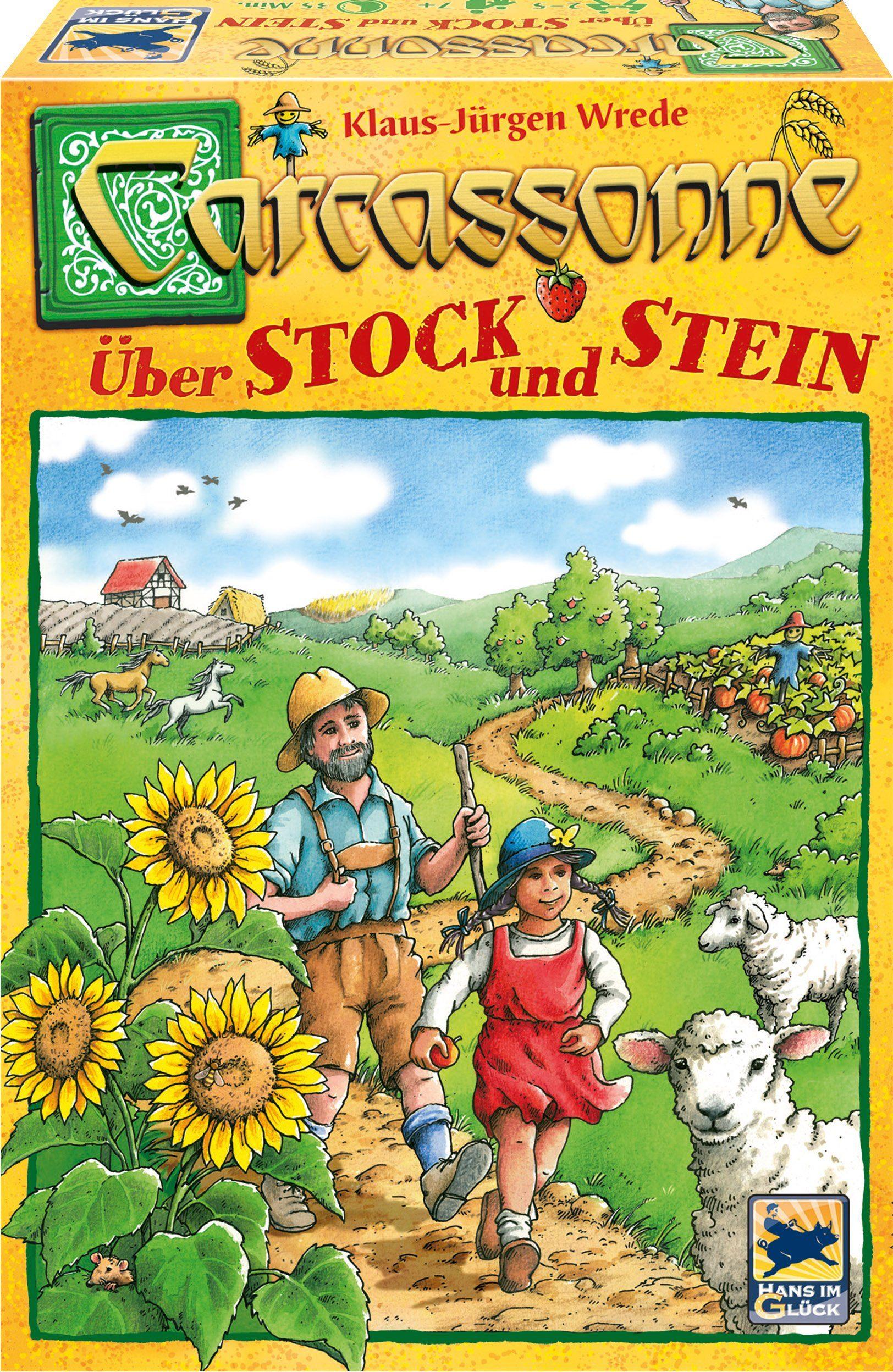 Hans im Glück Gesellschaftsspiel, »Carcassonne, Über Stock und Stein«
