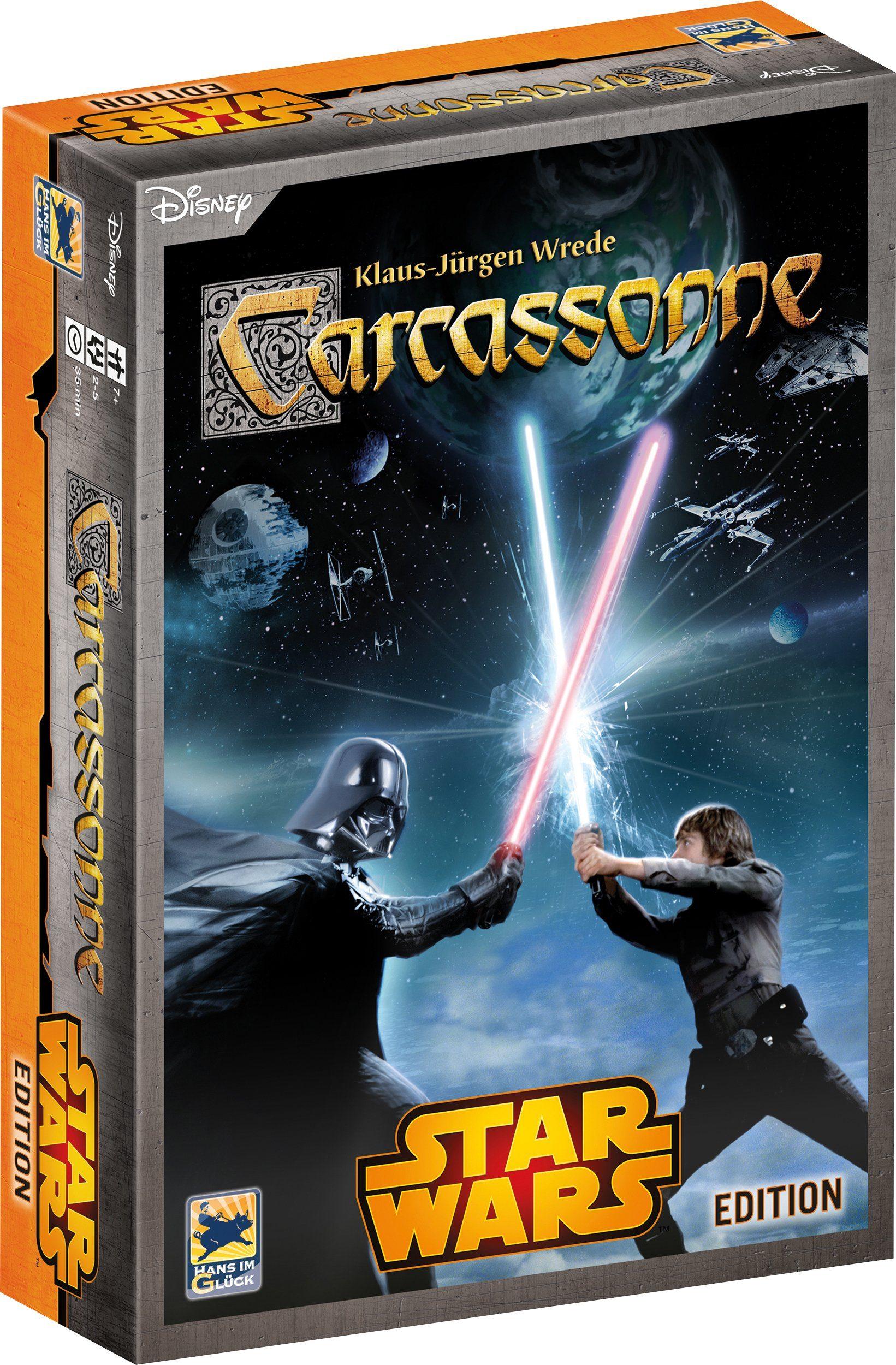 Hans im Glück Gesellschaftsspiel, »Disney Star Wars™, Carcassonne«