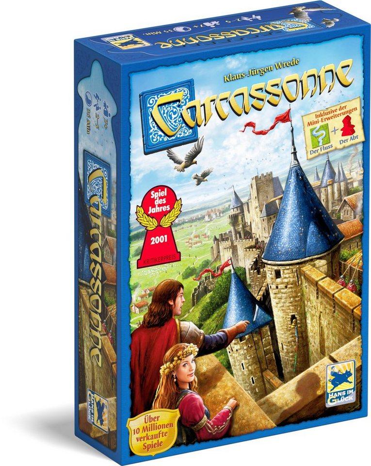 Schmidt Spiele Strategiespiel, »Carcassonne, Edition II«