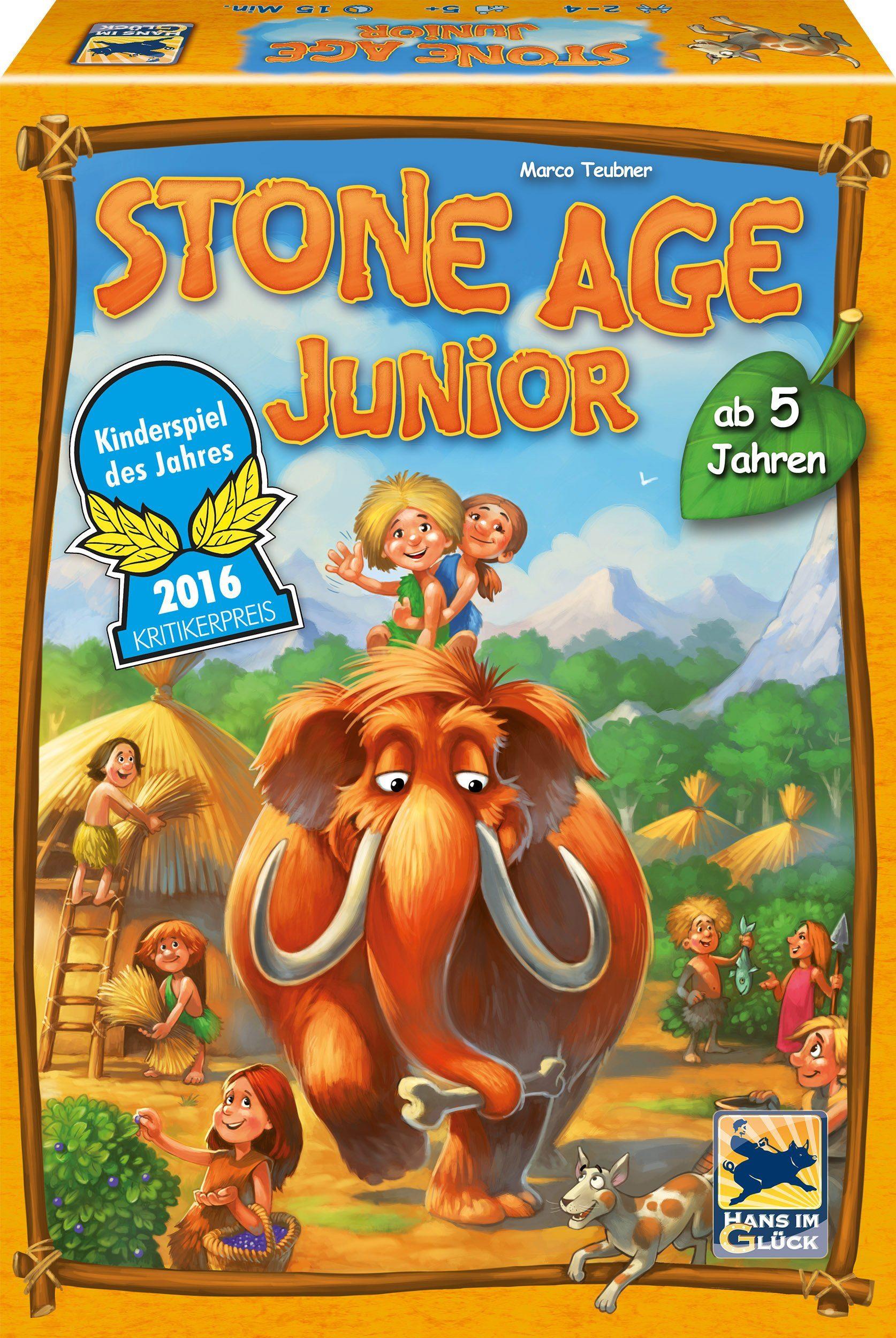 Schmidt Spiele Strategiespiel, »Stone Age Junior«