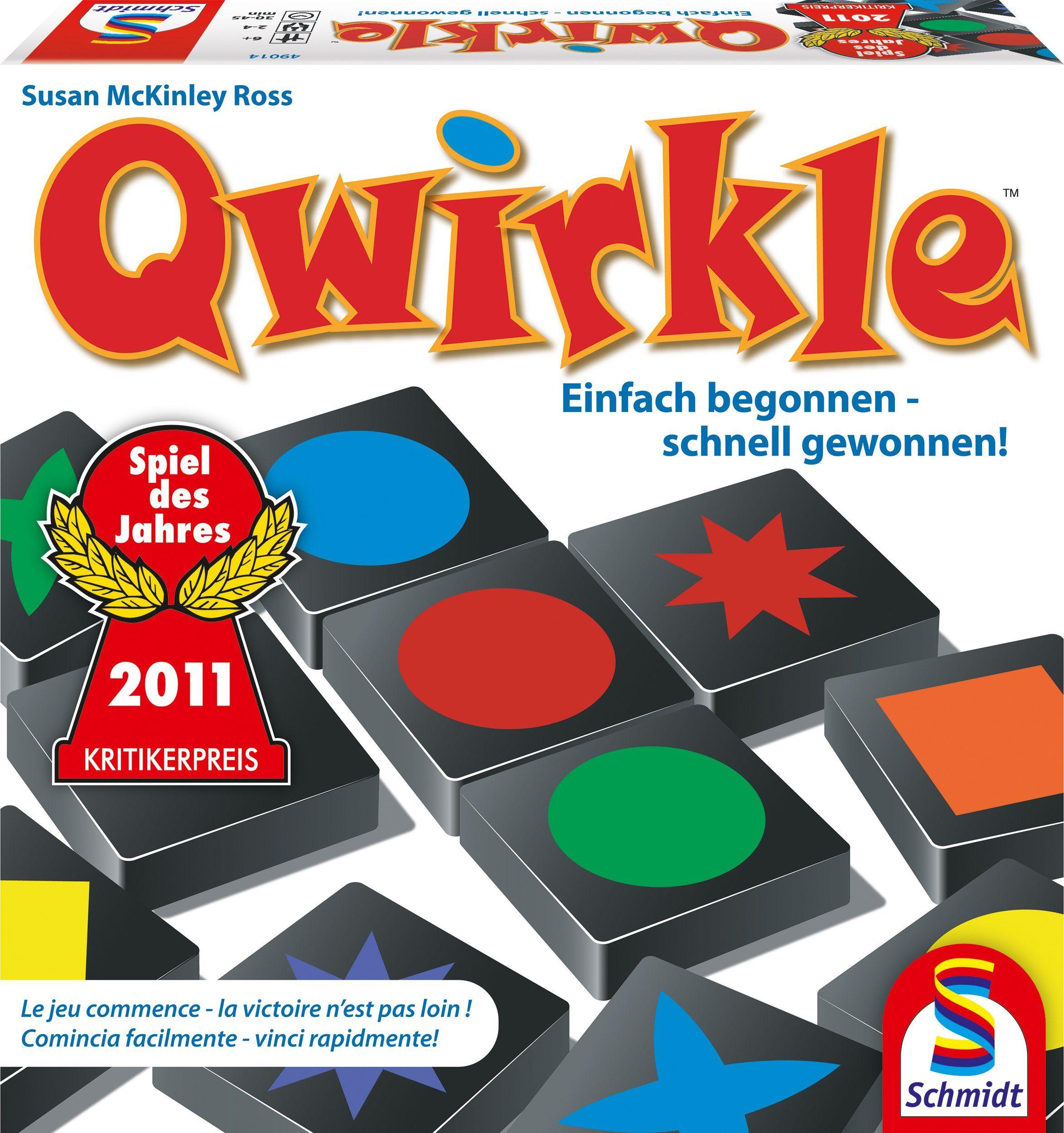 Schmidt Spiele Strategiespiel, »Qwirkle«