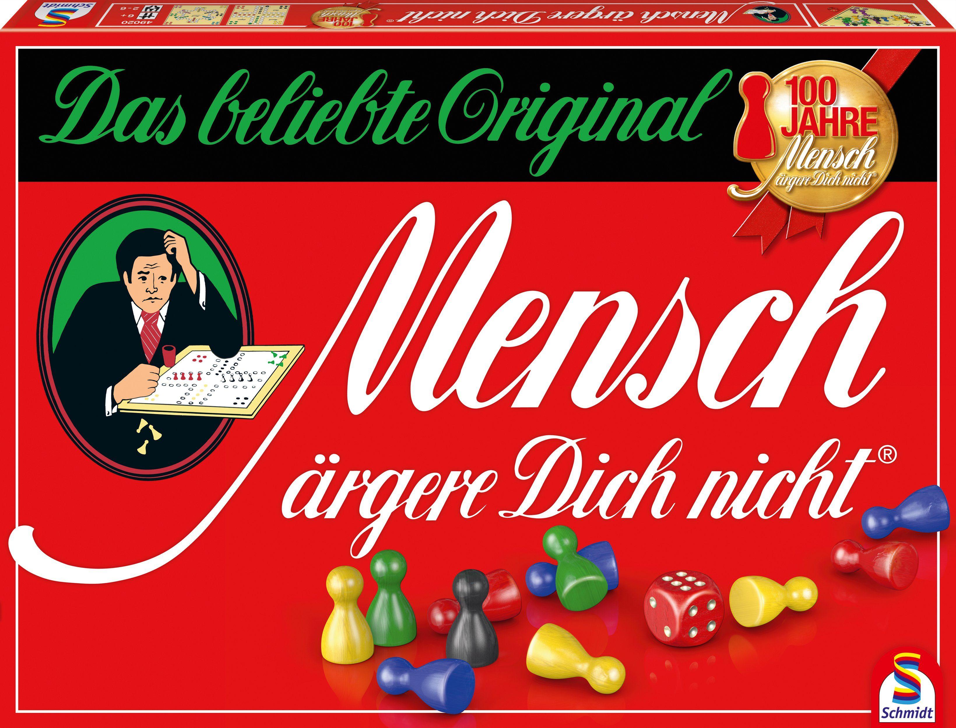 Schmidt Spiele Würfelspiel, »Mensch ärgere Dich nicht®, Jubiläumsausgabe«