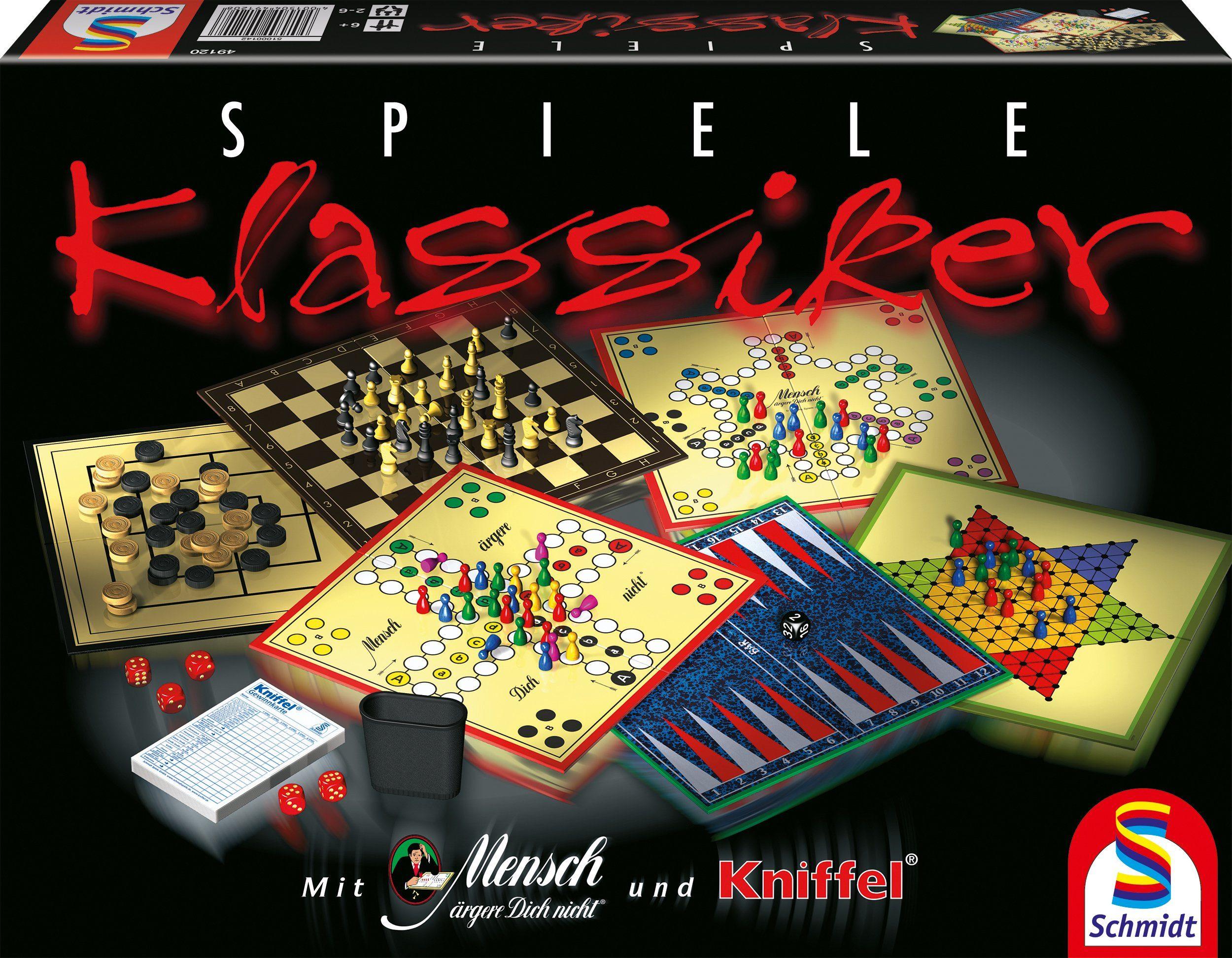 Schmidt Spiele Familienspiel, »Klassiker Spielesammlung«