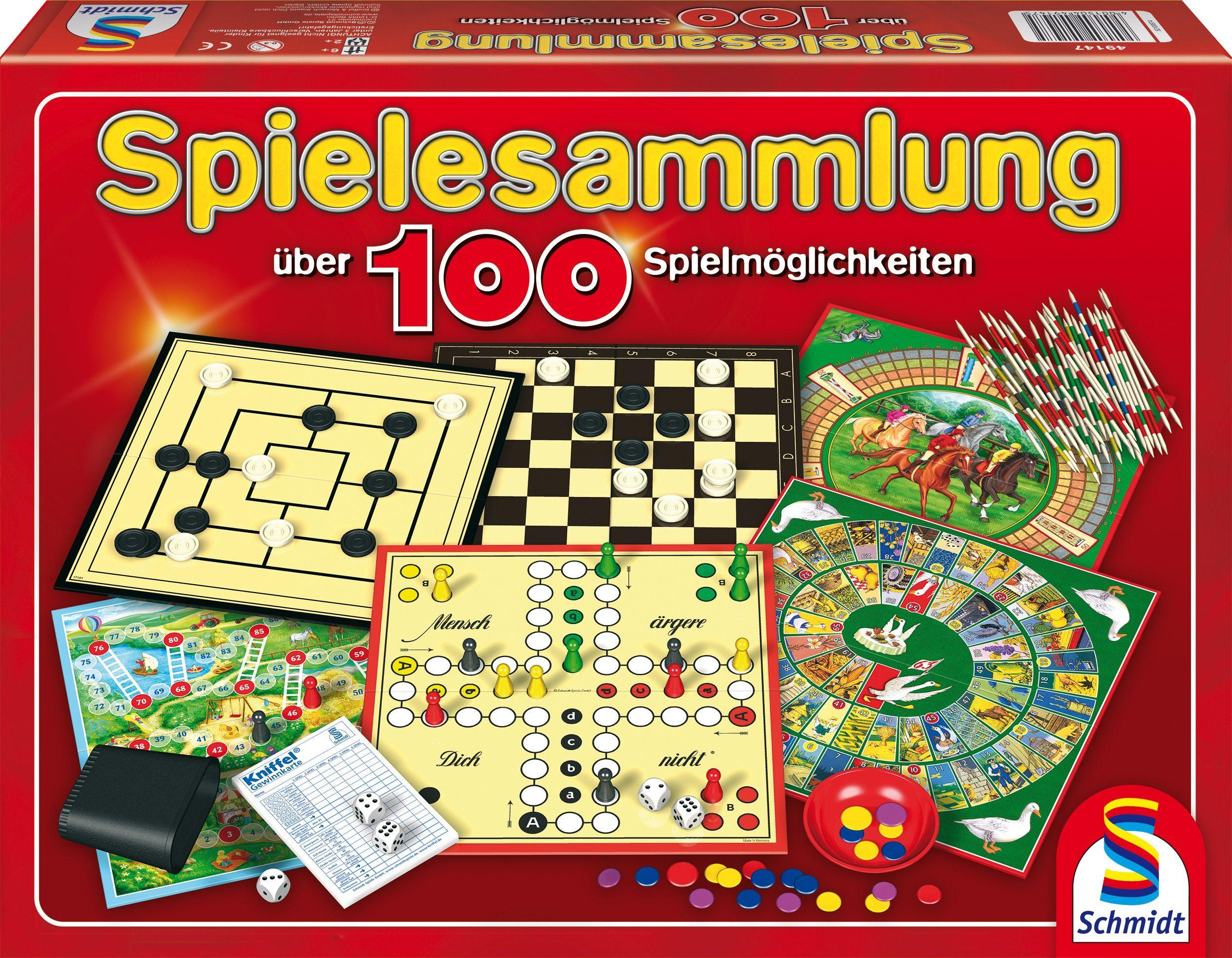 Schmidt Spiele Familienspiel, »Spielesammlung, 100 Spielemöglichkeiten«