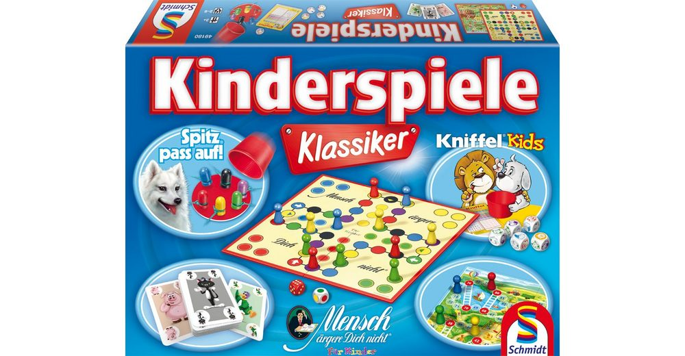 Schmidt Spiele Spielsammlung, »Kinderspiele Klassiker«