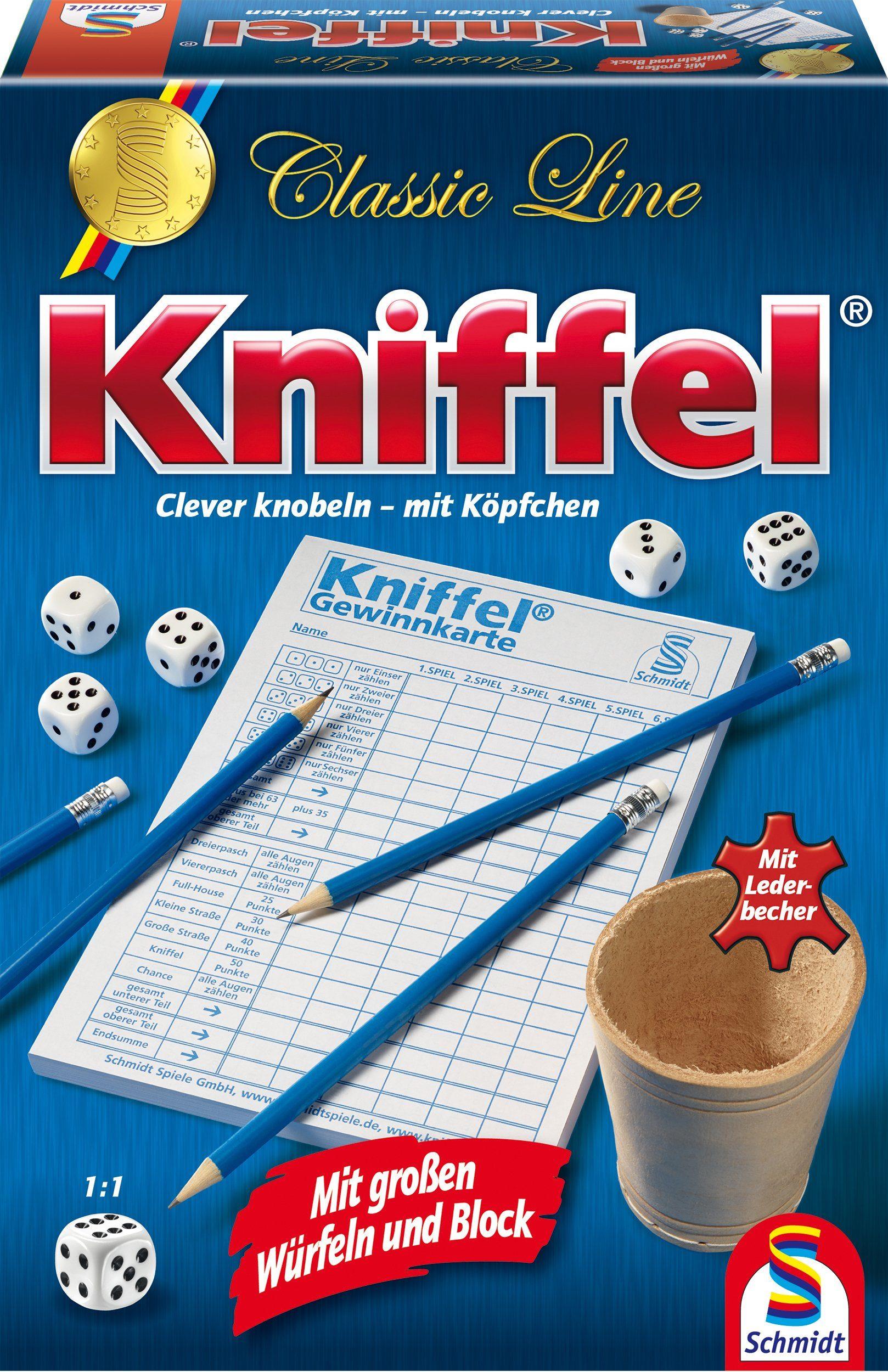 Schmidt Spiele Würfelspiel, »Classic Line, Kniffel®«