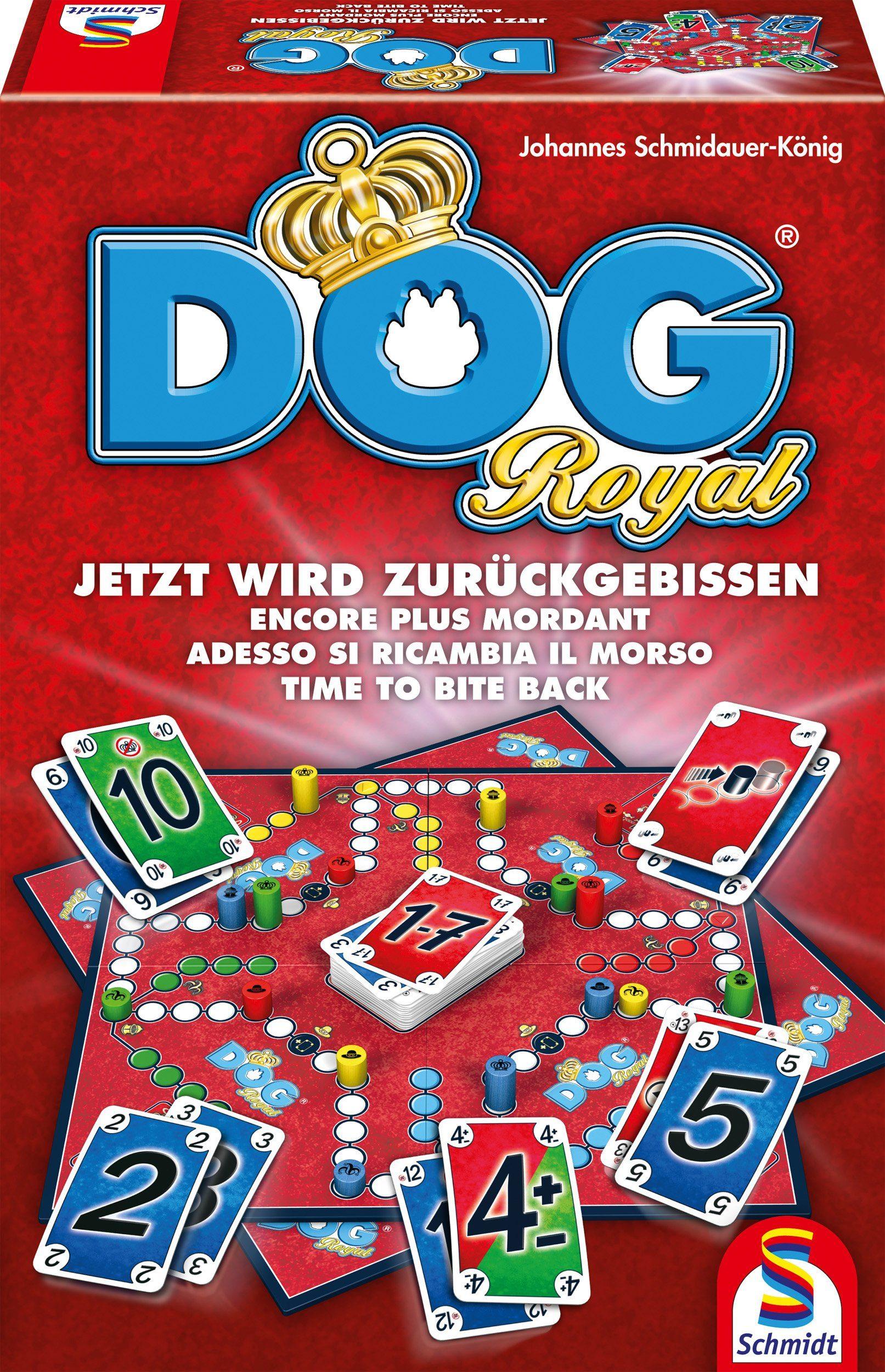 Schmidt Spiele Gesellschaftsspiel, »DOG® Royal«