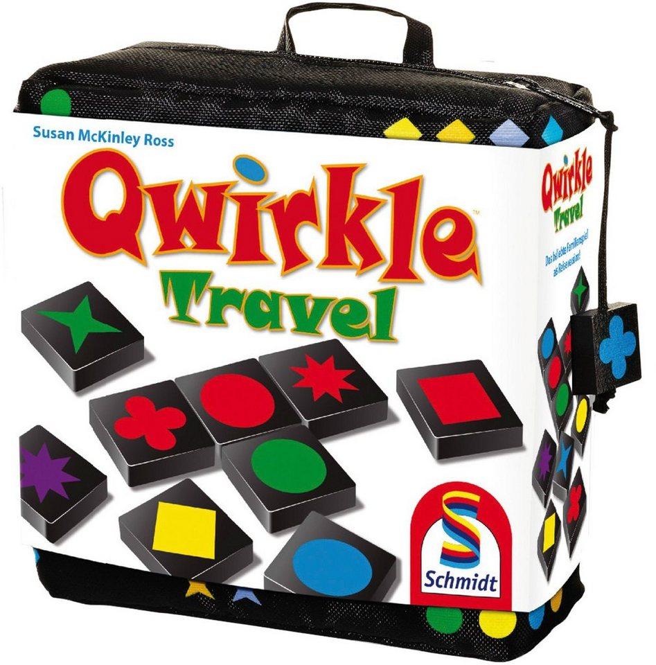 Schmidt Spiele Strategiespiel, »Qwirkle Travel«