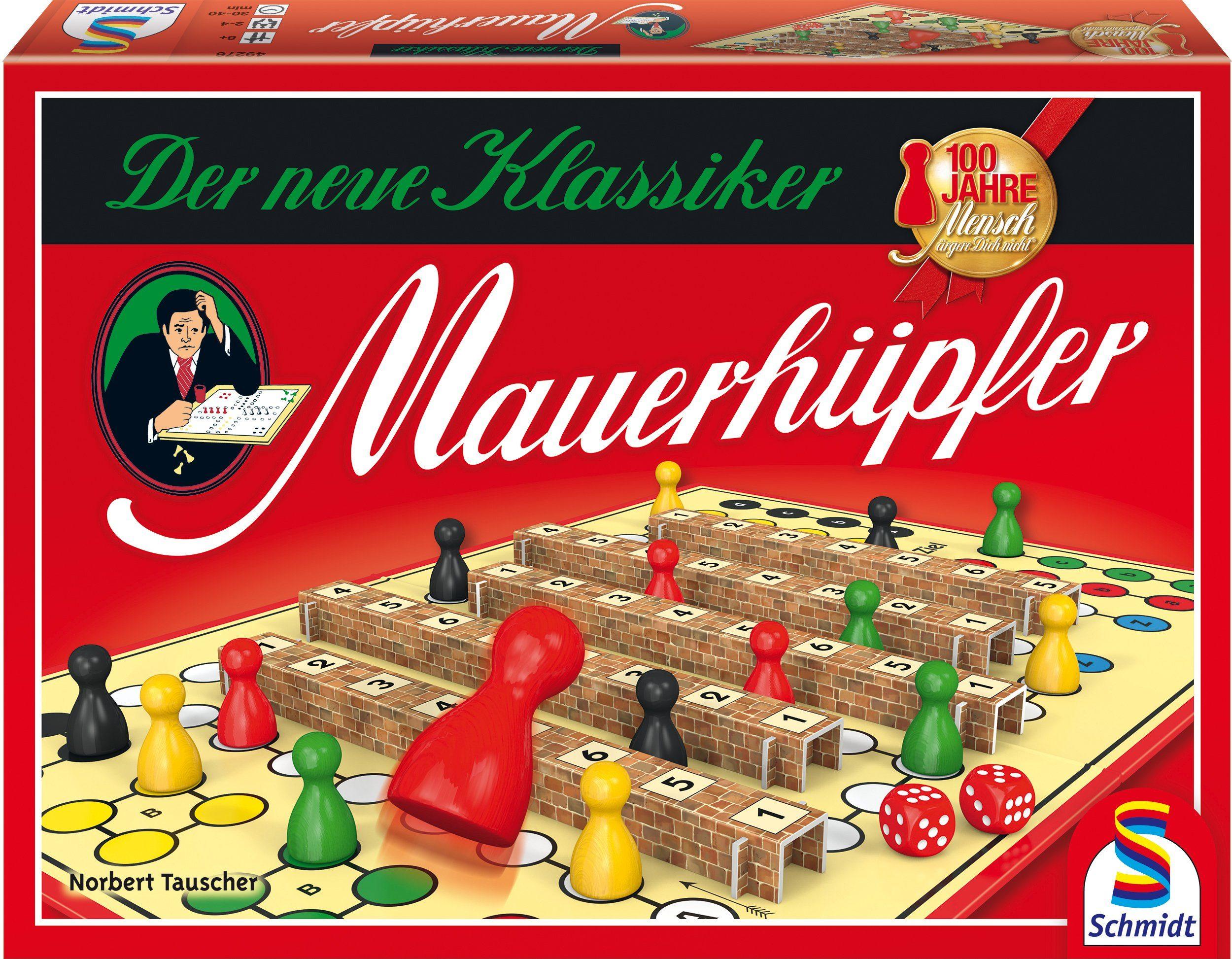 Schmidt Spiele Spieleklassiker, »Mensch ärgere Dich nicht®, Mauerhüpfer«