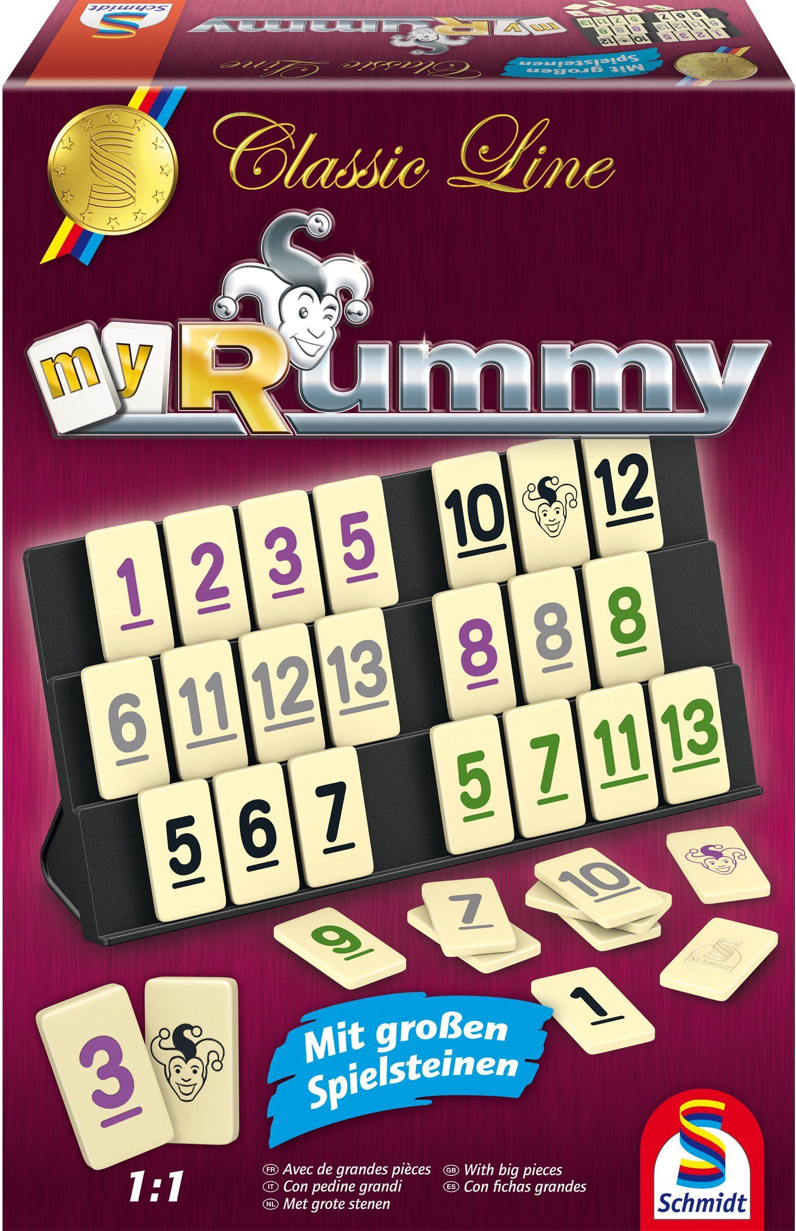 Schmidt Spiele Geschicklichkeitsspiel, »Classic Line, MyRummy®«