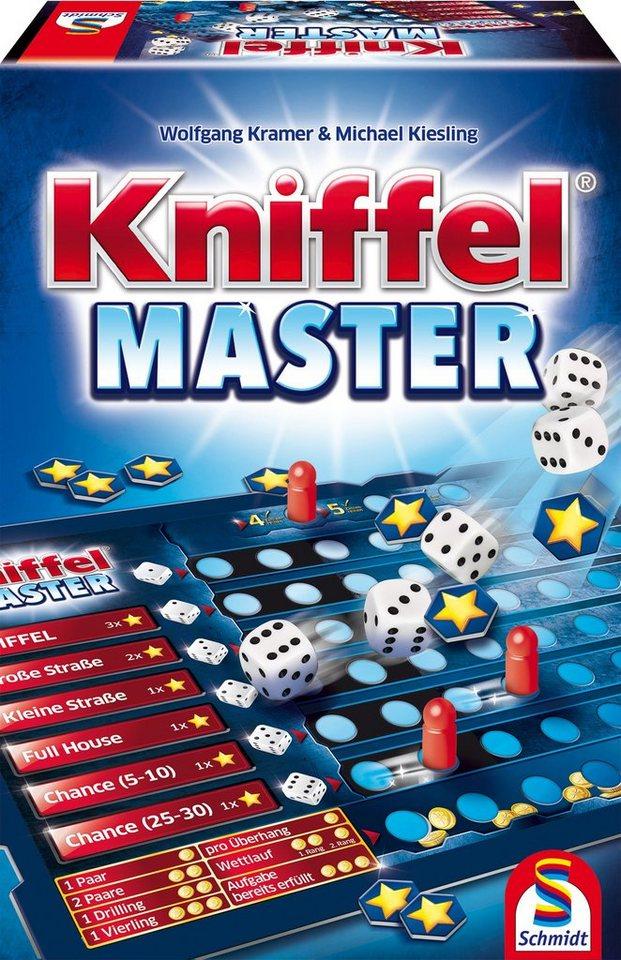 Schmidt Spiele Würfelspiel, »Kniffel® Master«