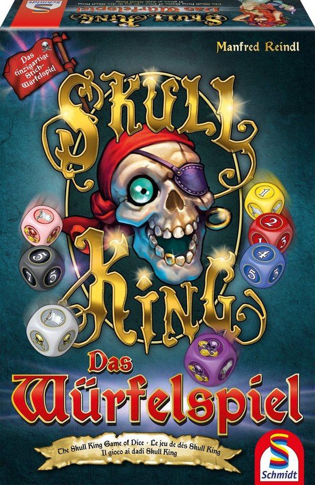 Schmidt Spiele Gesellschaftsspiel, »Skull King, Das Würfelspiel«