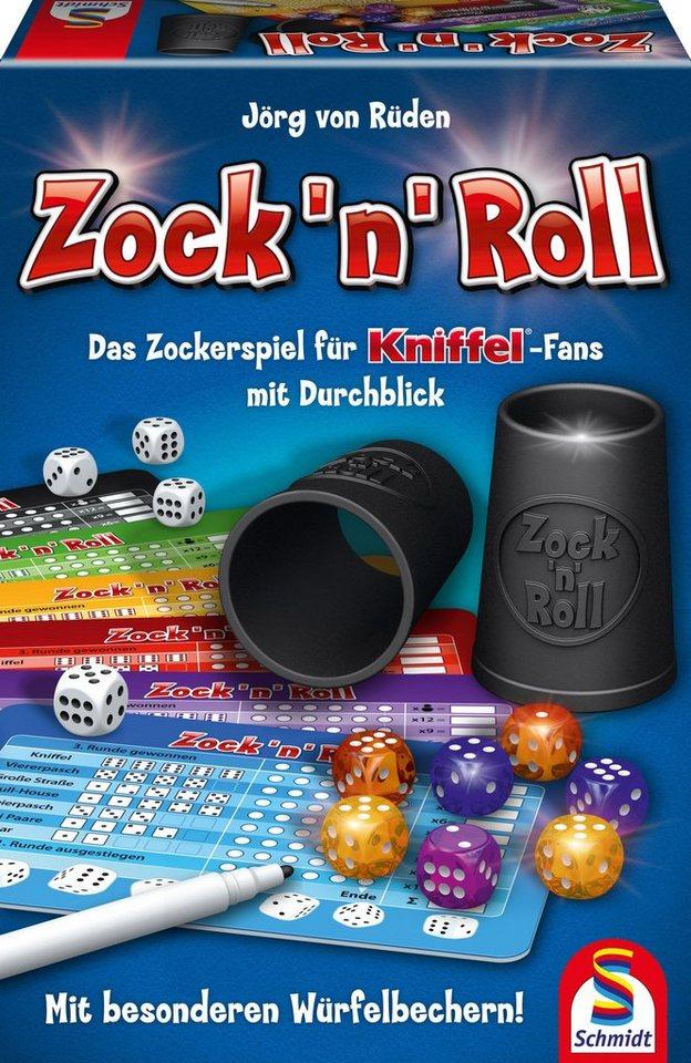 Schmidt Spiele Würfelspiel, »Zock´n´Roll«