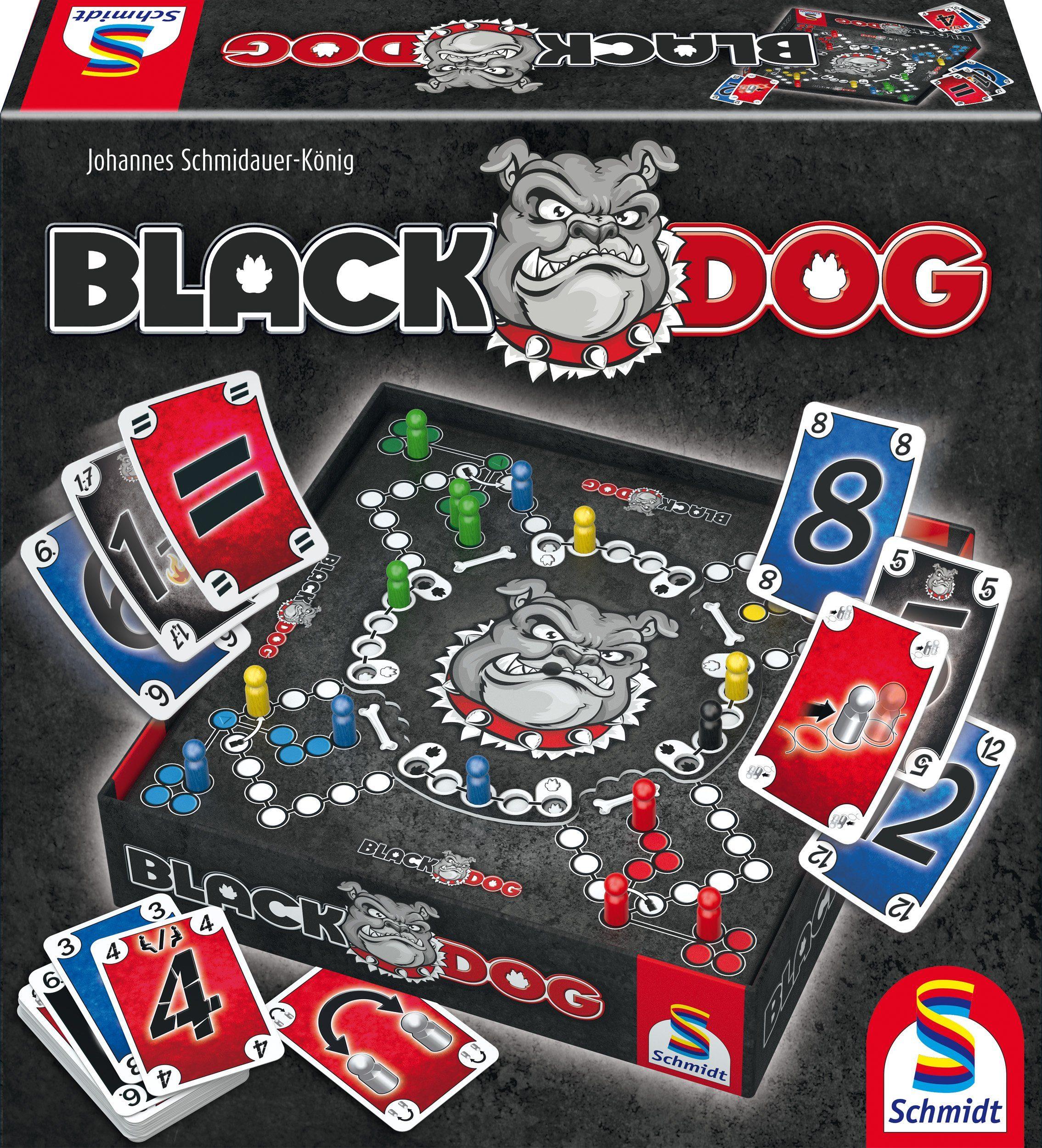 Schmidt Spiele Gesellschaftsspiel, »Black DOG®«