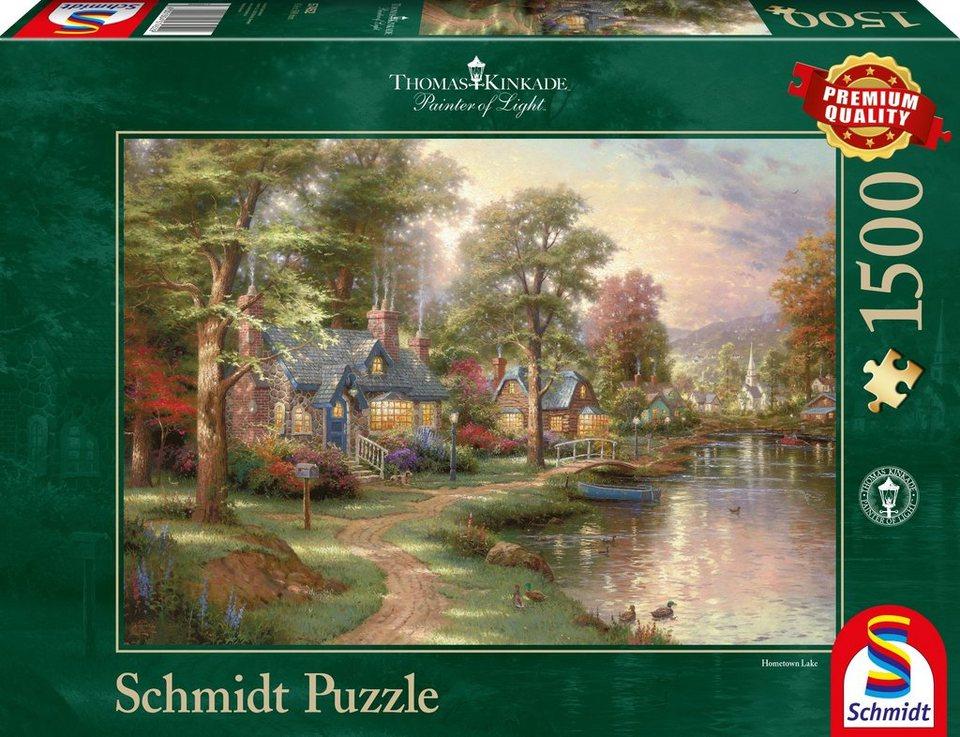 Schmidt Spiele Puzzle mit 1500 Teilen, »Am See«