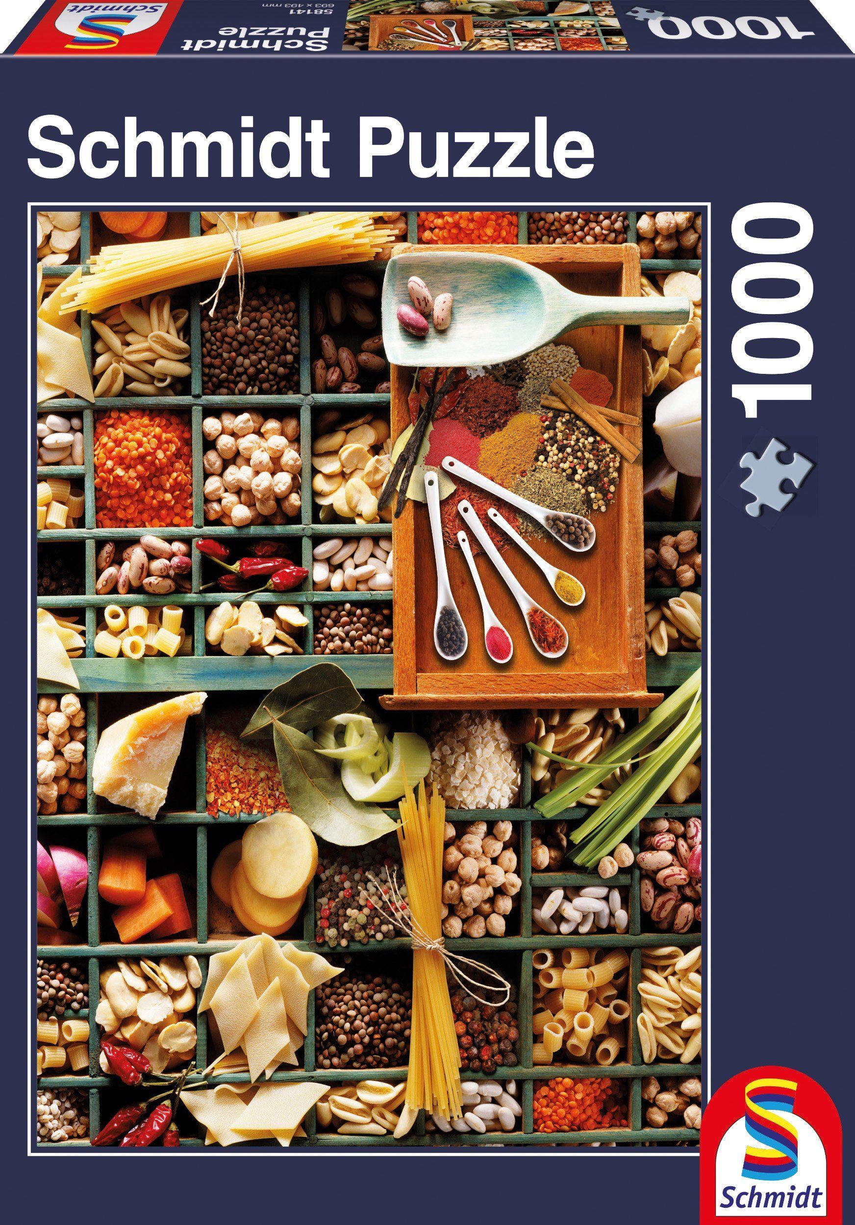 Schmidt Spiele Puzzle mit 1000 Teilen, »Küchen Potpourri«