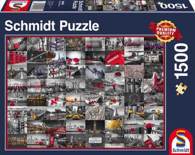 Schmidt Spiele Puzzle mit 1500 Teilen, »Stadtbilder« Sale Angebote Koppatz