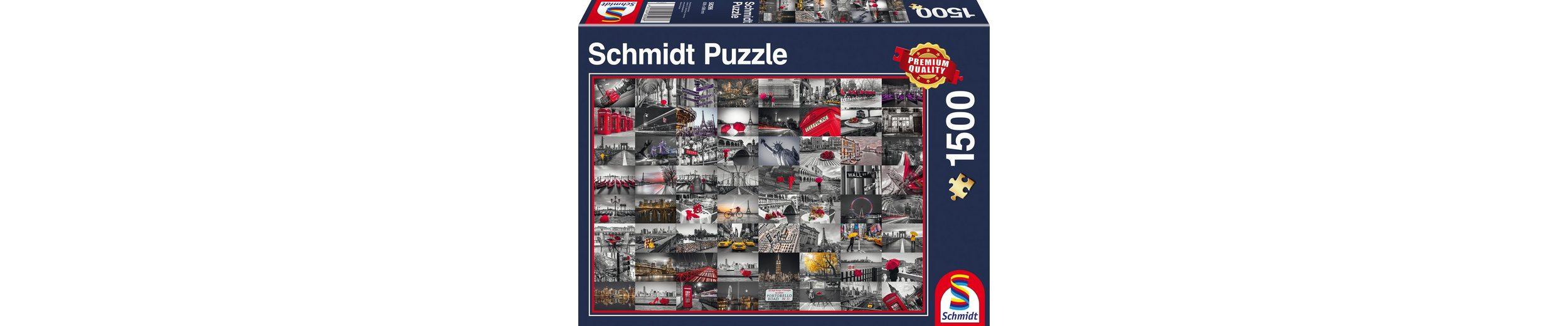 Schmidt Spiele Puzzle mit 1500 Teilen, »Stadtbilder«