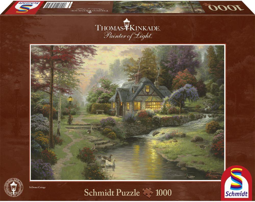 Schmidt Spiele Puzzle mit 1000 Teilen, »Friedliche Abendstimmung«