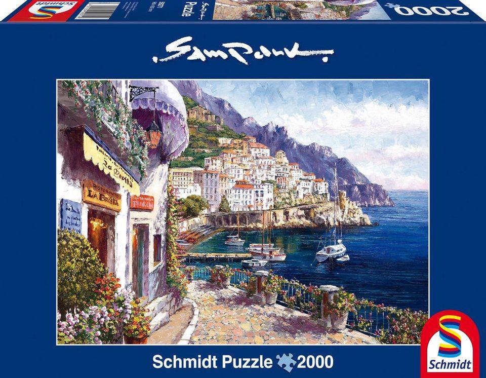 Schmidt Spiele Puzzle mit 2000 Teilen, »Amalfi am Nachmittag«