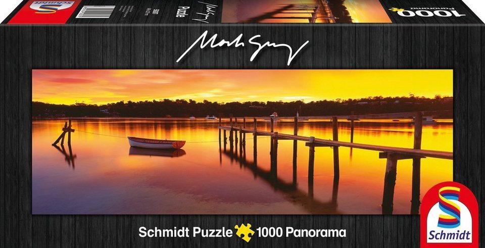 Schmidt Spiele Panoramapuzzle mit 1000 Teilen, »Merimbula, New South Wales, Australia«