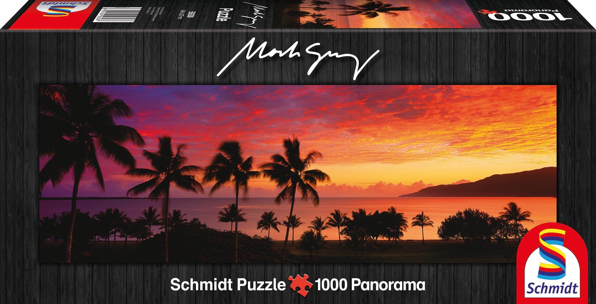 Schmidt Spiele Panoramapuzzle mit 1000 Teilen, »Trinity Bay, Cairns, Queensland, Australia«