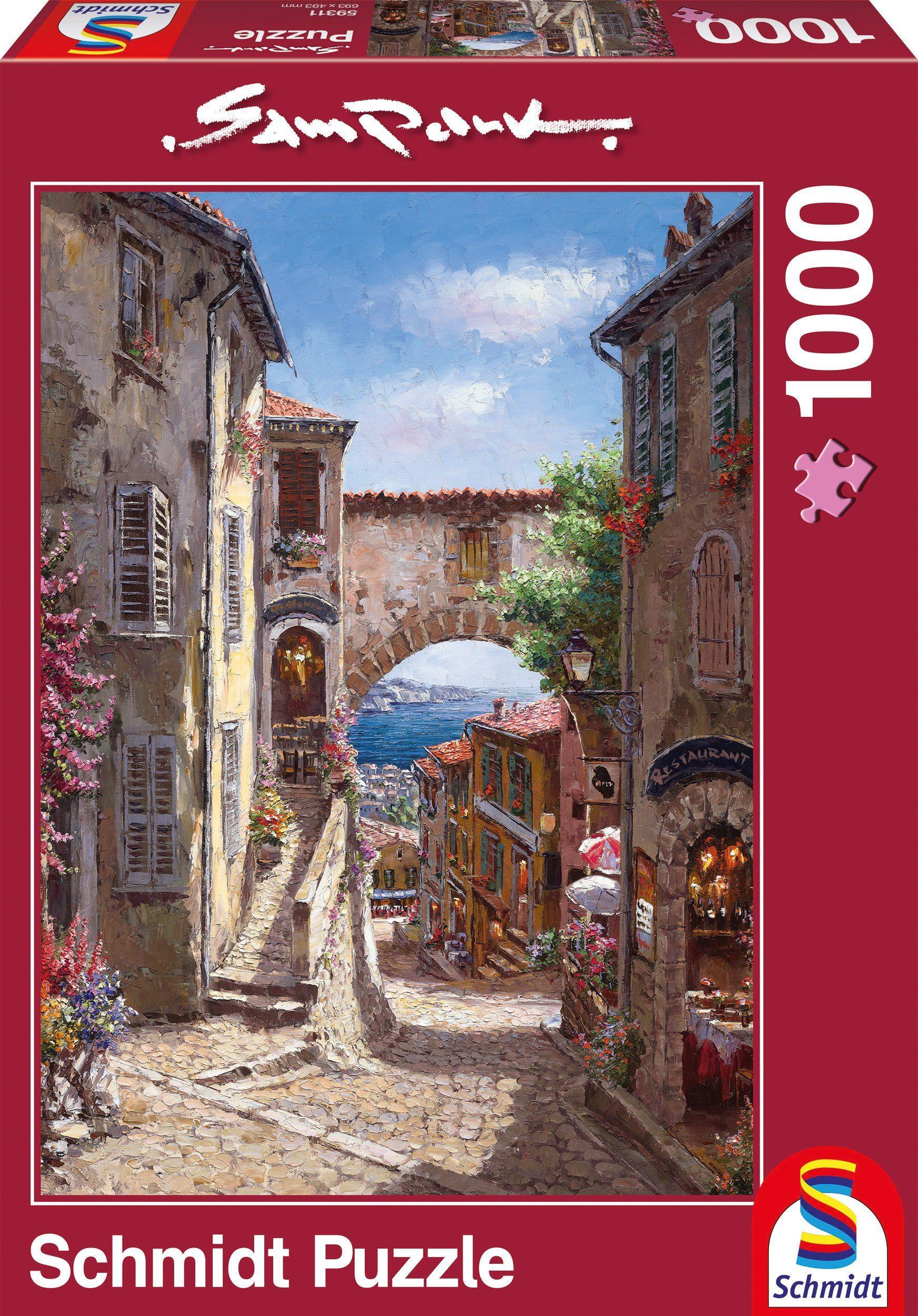Schmidt Spiele Puzzle mit 1000 Teilen, »Meerblick«