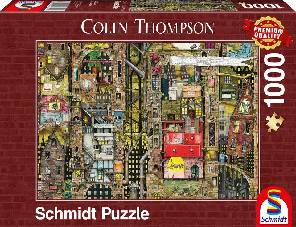 Schmidt Spiele Puzzle mit 1000 Teilen, »Fantastisches Stadtbild«