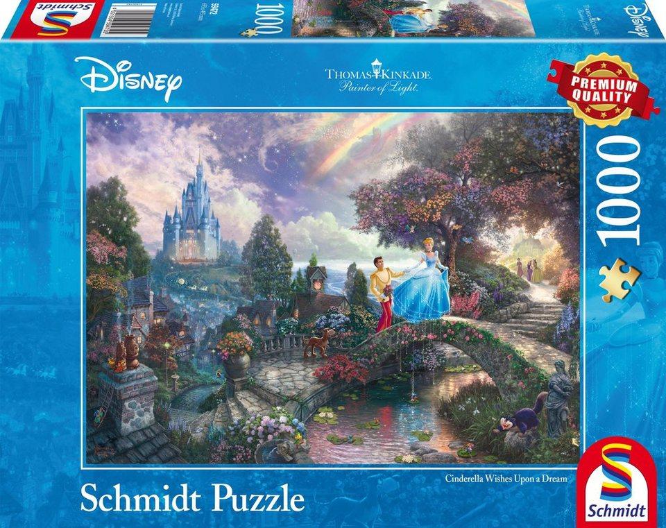 Schmidt Spiele Puzzle mit 1000 Teilen, »Disney Cinderella«