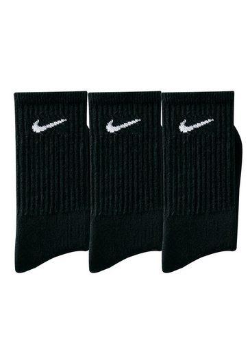 Nike Klassische Sportsocken (3 Paar) mit Frottee
