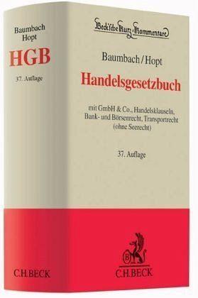 Buch mit Leinen-Einband »Handelsgesetzbuch«