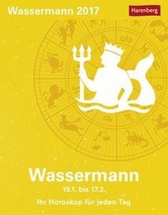 Kalender »Sternzeichenkalender Wassermann 2017«