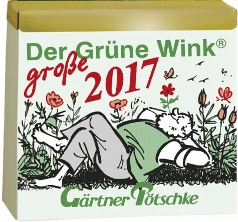 Kalender »Gärtner Pötschkes Der Grüne Wink MAXI...«
