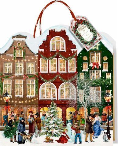 Kalender »Weihnachtsstraße Adventskalender-Tasche«