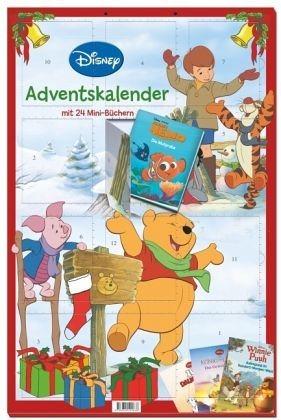 Broschiertes Buch »Disney Minibuch-Adventskalender 2016«