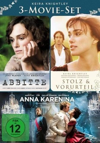 DVD »Keira Knightley - 3-Movie-Set DVD-Box«