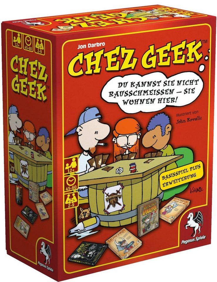 Pegasus Spiele Kartenspiel, »Chez Geek«