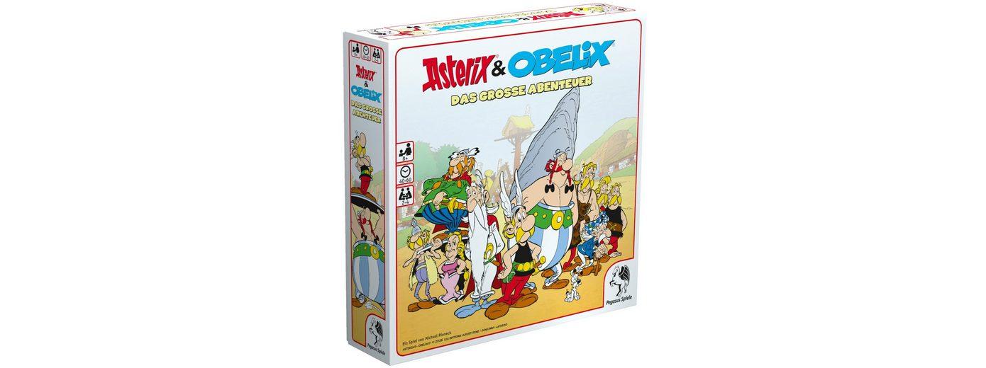 Pegasus Spiele Familienspiel, »Asterix & Obelix, Das große Abenteuer«