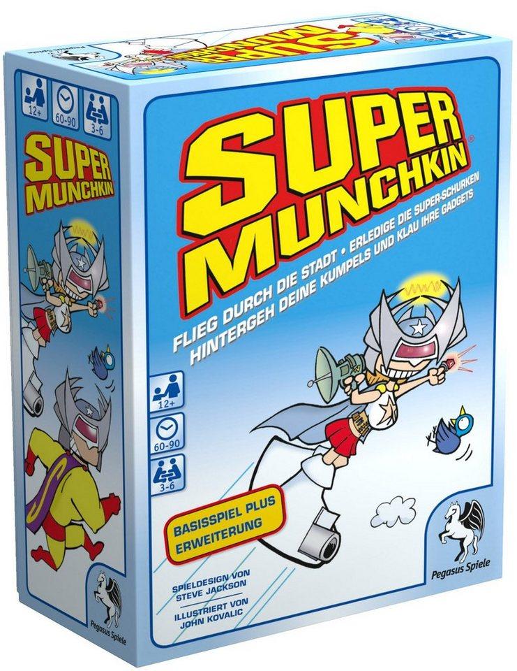 Pegasus Spiele Kartenspiel, »Super Munchkin«