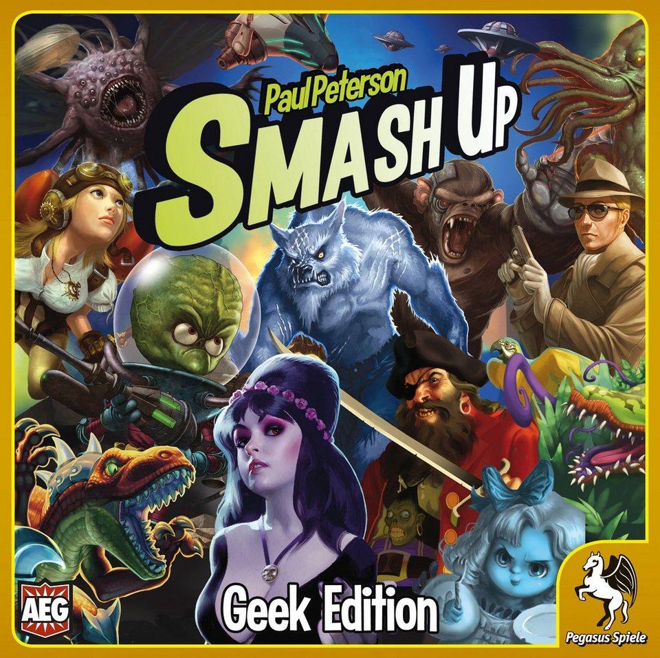 Pegasus Spiele Kartenspiel, »Smash Up: Geek Edition«