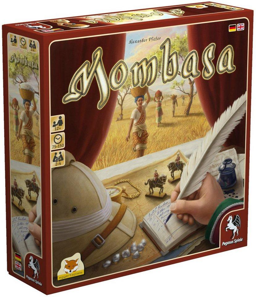 Pegasus Spiele Gesellschaftsspiel, »Mombasa«