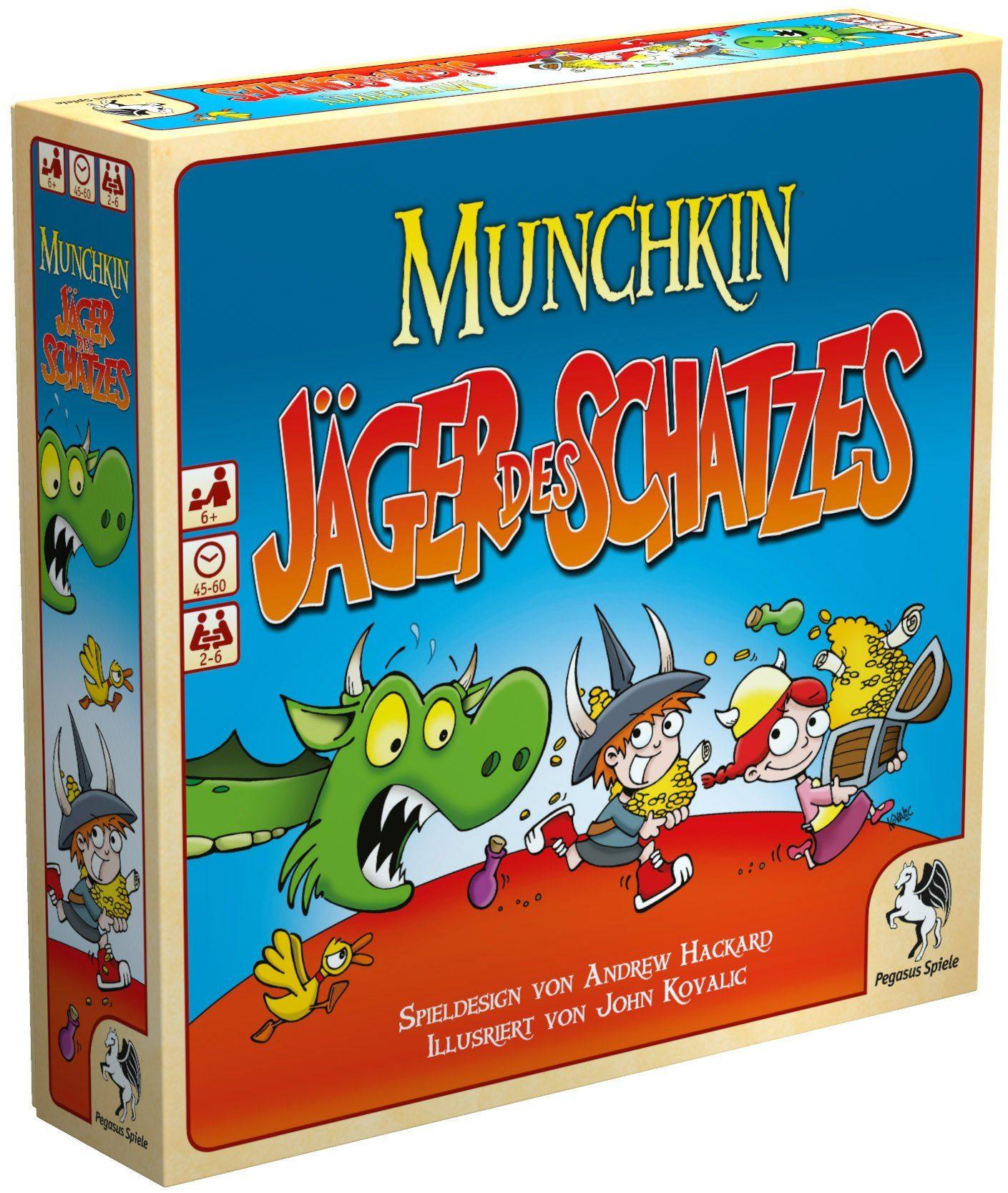 Pegasus Spiele Familienspiel, »Munchkin Jäger des Schatzes«