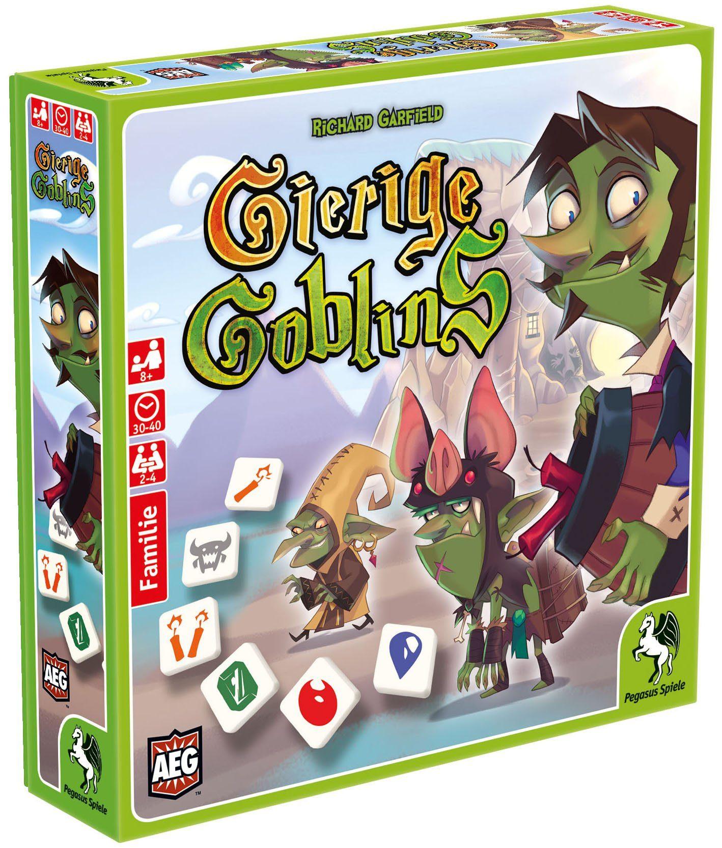 Pegasus Spiele Familienspiel, »Gierige Goblins«