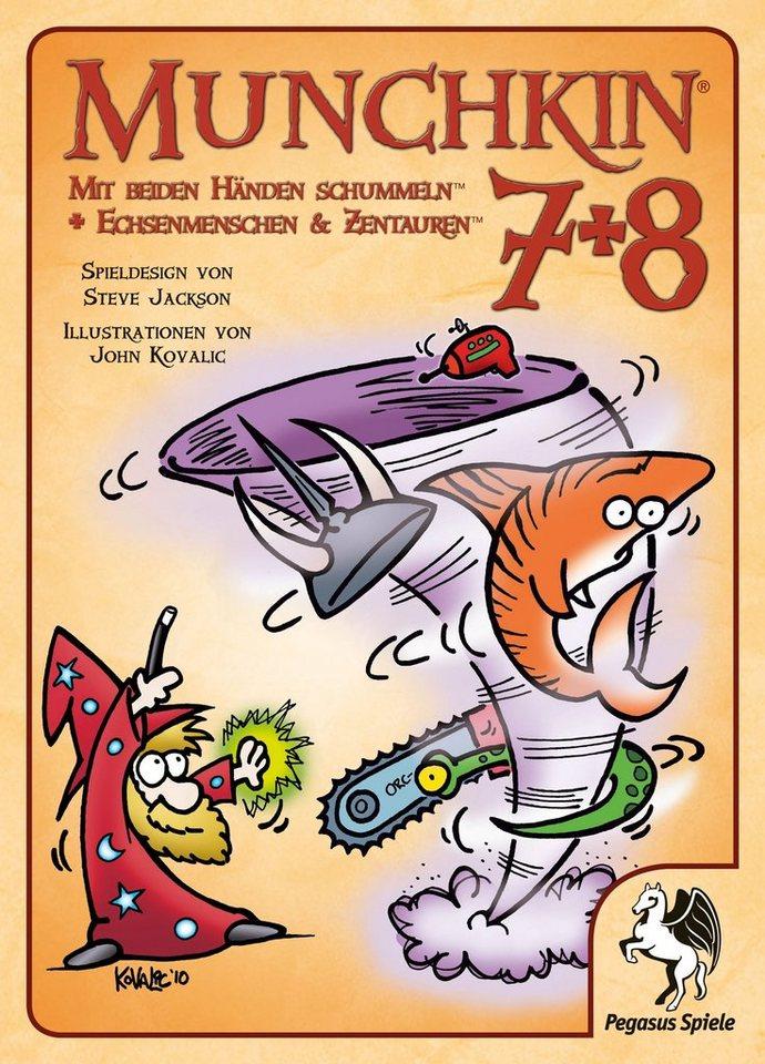Pegasus Spiele Kartenspiel, »Munchkin 7+8«