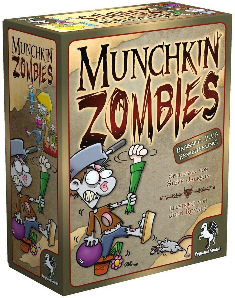 Pegasus Spiele Kartenspiel, »Munchkin Zombies«